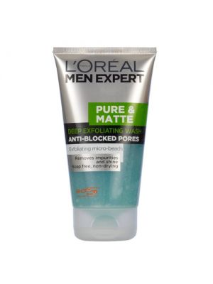 L'Oreal Men Expert Pure and Matte Face Scrub