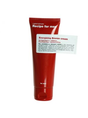 Recipe For Men Energizing Bronze Cream