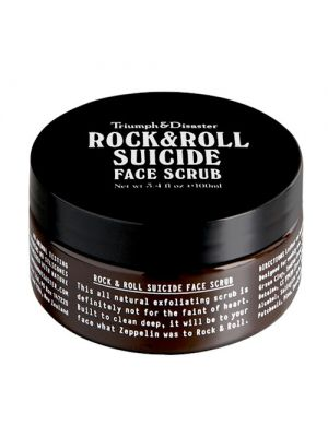 Triumph and Disaster Rock & Roll Suicide Face Scrub
